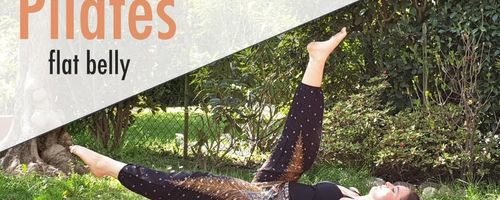 Pilates for the abs, the hips and the thighs, the helicopter