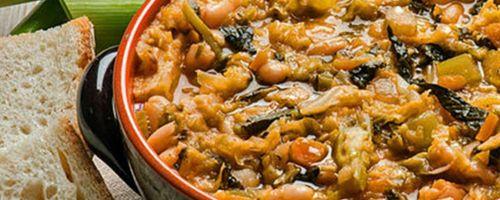 Toskanische Ribollita Suppe