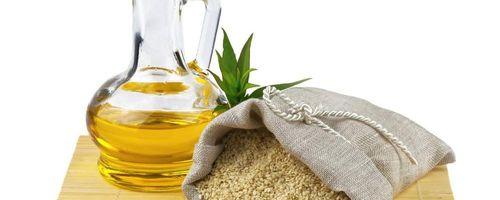 Sesame oil, for external use