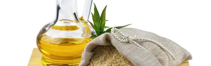 Sesame oil, for external use