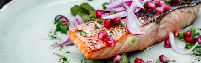 You know what you eat, the problem of the salmon