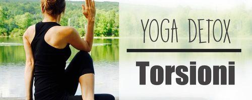 Yoga detox, le torsioni