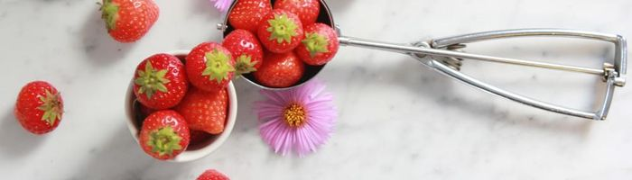 Food combinations and properties, the strawberries, better than aspirin
