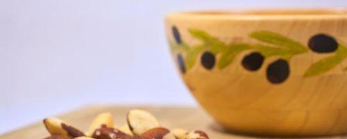 Seebrassen Filets mit Topinambur und Soße aus Cashew und Paranüssen