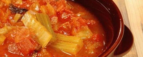 Italienische Acquacotta-Suppe