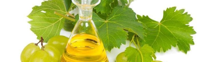 Grapeseed oil, cosmetic use