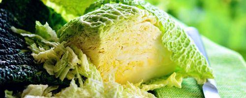 Spelt pasta with savoy cabbage