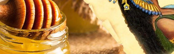 Natural cosmetics, like kings and queens Part 8, lemon balm honey for the Nefertari's bath