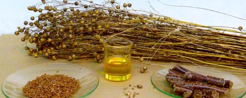 Flaxseed oil (for food use)