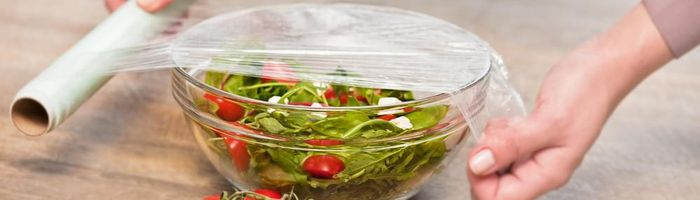 Healthy in the kitchen, are plastic wraps for storing food safe?