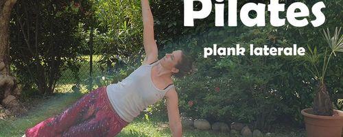 Plank laterale per snellire il giro vita e rinforzare le braccia