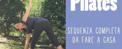 Pilates, allenamento a casa per tonificare il corpo e tenersi in forma