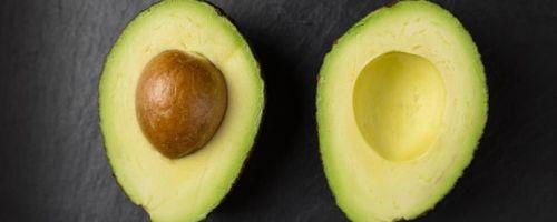Avocado and citrus fruit cream