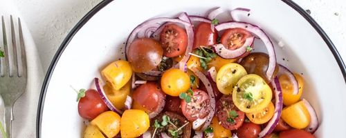 Food combinations, raw tomatoes and cooked tomatoes