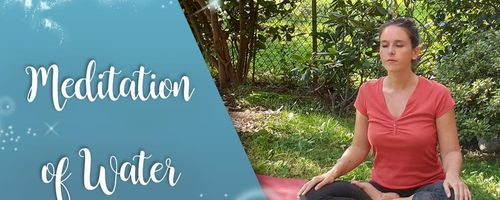 Meditation of water to bring calm and remove anxiety