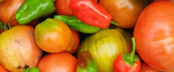 Food combinations and cooking methods, sweet peppers