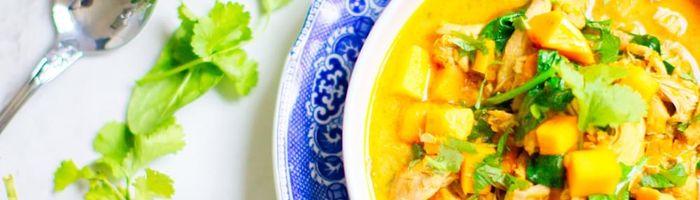 Veggie tofu curry with basmati rice