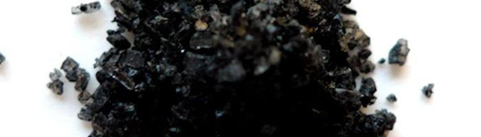 Black salt of Cyprus