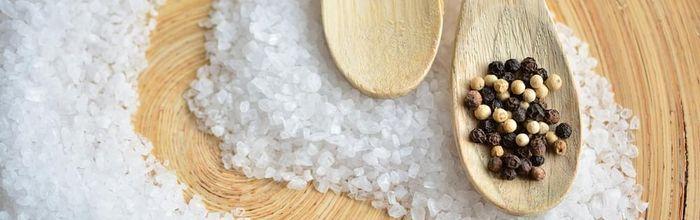 Healthy in the kitchen, salt