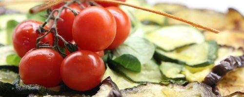 Köstliche Auberginen im Ofen