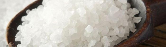 Sea salt, unrefined
