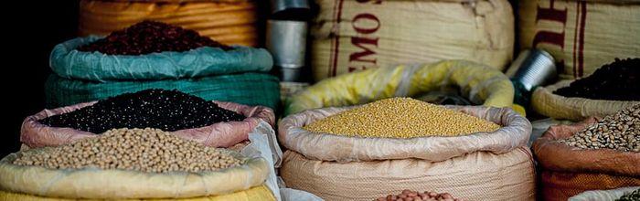 Food combinations, legumes