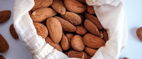 Almonds, a sweet healthy snack