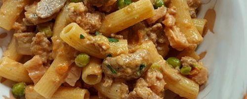 Vegan shepherd's pasta