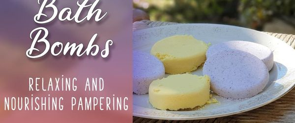 Bath bombs, the relaxing and nourishing pampering