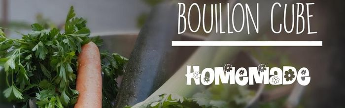 How to make at home the vegetable bouillon cube