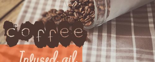 Coffee infused oil against cellulite and eye bags