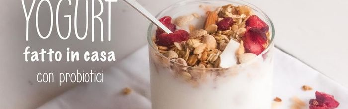 Yogurt con probiotici fatto in casa