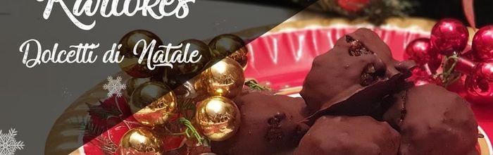 Kariokes, i dolcetti di Natale al cioccolato e noci