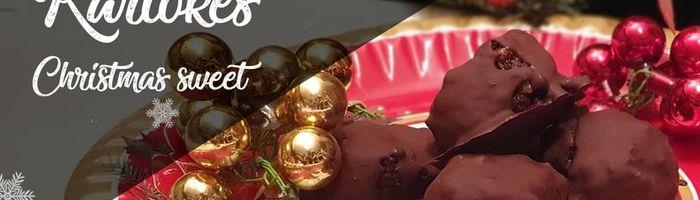 Kariokes, the chocolate and walnut Christmas sweets