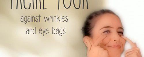 Facial yoga against wrinkles