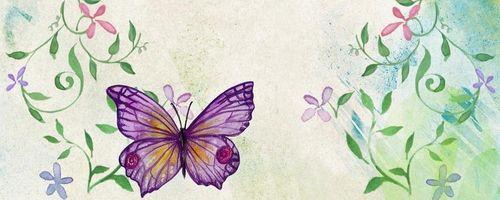 Die Geschichte der Raupe und des Schmetterlings