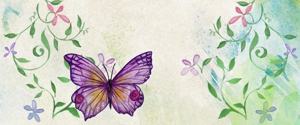 The tale of the caterpillar and the butterfly