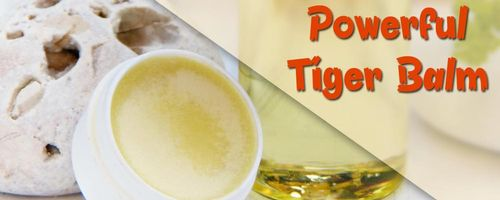 Tiger Balsam, entzündungshemmend und schmerzlindernd
