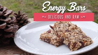 Energy bars, raw and delicious