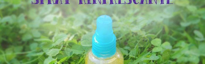 Spray rinfrescante per il corpo