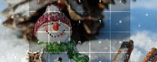 December is magic with our Advent Calendar