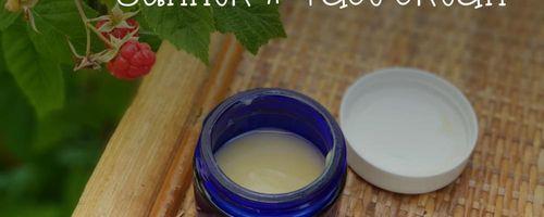 Summer face cream