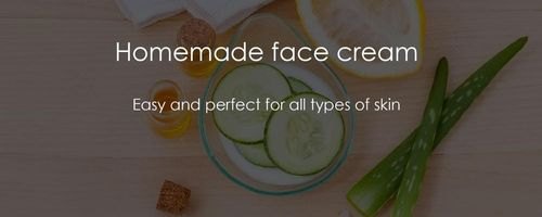 Homemade cream for face and body, easy and with amazing results