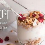 Homemade yogurt with probiotics, DIY remedies