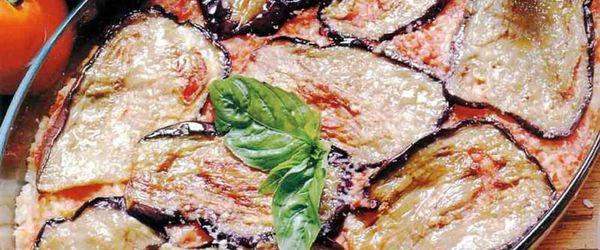 Italian eggplant parmesan recipe, light version
